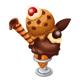 大人のほろにがチョコアイス