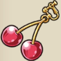 サクランボのイヤリング