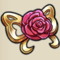 赤薔薇の胸飾り
