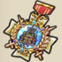 キングどぐうの勲章
