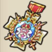 キング星たぬきの勲章