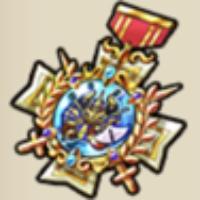 キングミノタウロスの勲章