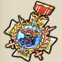 キングクイーンの勲章