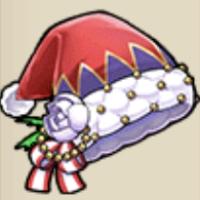 エミリアのサンタ帽