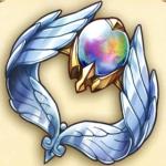 輝く翼のアームレット