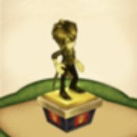 リアムの伝説の像