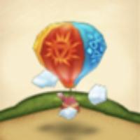 カラフル天気球