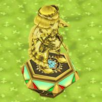 王冠シャルロットの像