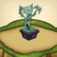 イシュプールの像