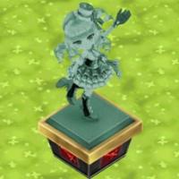 リリーの像